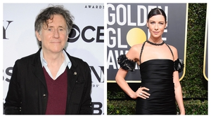 Gabriel Byrne and Caitriona Balfe for this week's Late Late