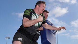 Chris Farrell in Ireland training today
