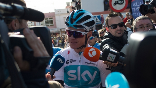 Chris Froome returns to cycling despite doping investigation