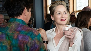Sharon Stone in Mosaic