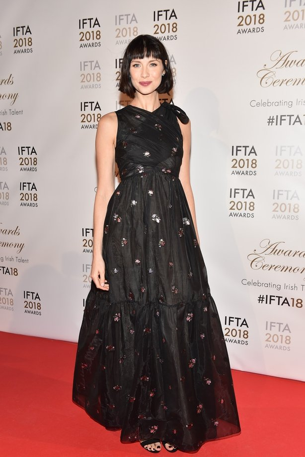 Caitriona Balfe at the IFTA 2018 Awards in Dublin