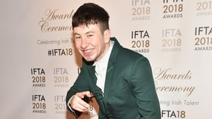 Barry Keoghan at the IFTAs 2018