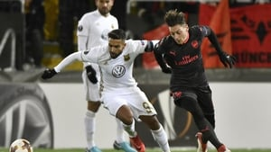Mesut Ozil and Nacho Monreal were both on target for Arsenal in Sweden.