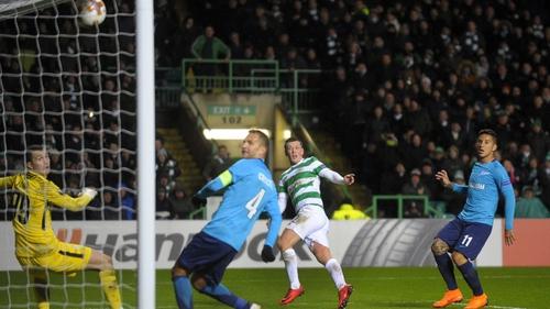 Callum McGregor scores the winner