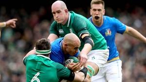 Sergio Parisse won't play against Ireland