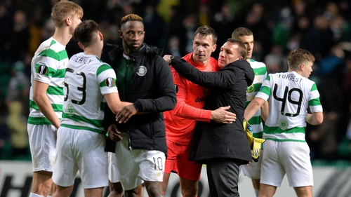Barton comments on gap between Celtic and Rangers; questions Rodgers