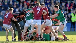 Mayo selector Tony McEntee was punished for his involvement in last week's flashpoint against Galway