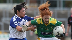 Louise Ni Mhuircheartaigh (R) helped Kerry to victory over Mayo last time out