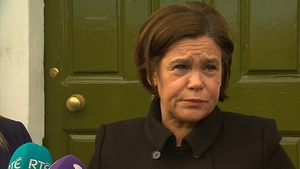 Mary Lou McDonald says her party will meet with the Irish and British governments next week
