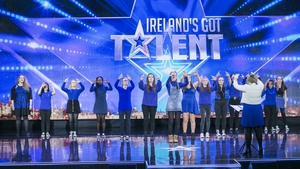 The Deaftones performing on Ireland's Got Talent