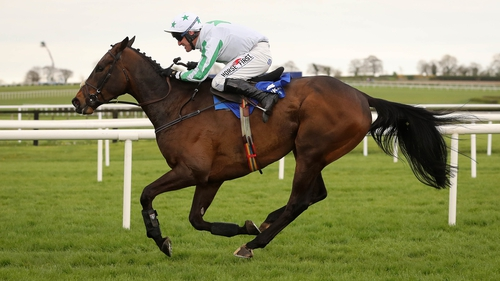 Our Duke fought off the challenge of Presenting Percy to prevail at Gowran Park