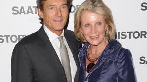 Actor Nigel Havers with wife - and saviour - Georgiana Bronfman