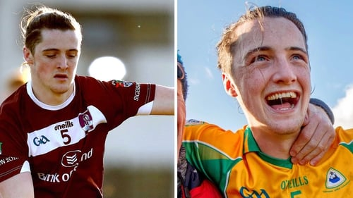 Molloy in action for NUIG and Corofin