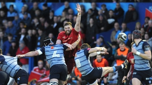 Munster fail to fire despite a bonus point in Cardiff