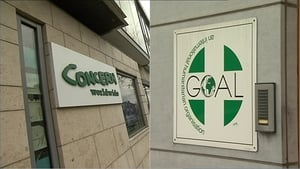 Both Concern and GOAL have issued statements saying they have received an average of between one and two allegations a year