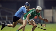 Limerick's Aaron Gillane and Eoghan O'Donnell of Dublin