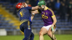 Daragh Mooney made a key save from Conor McDonald