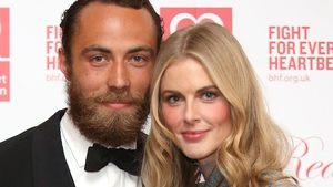 James Middleton and Donna Air pictured in 2015