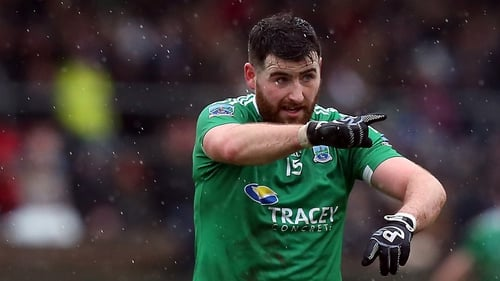 Seamus Quigley scored the winning point for Fermanagh