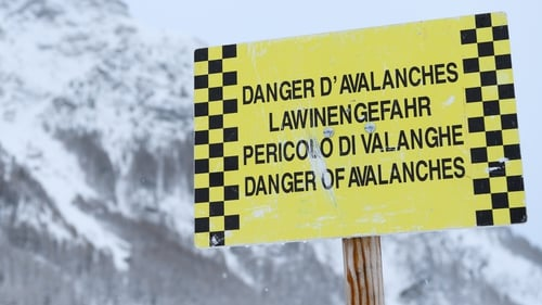 The avalanches hit regions of the Alps in Italy, Austria, France and Switzerland