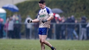 Conor McManus celebrates at the full-time whistle