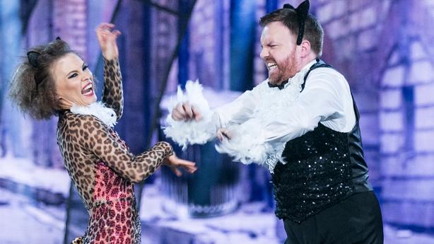 Bernard and Valeria's final performance