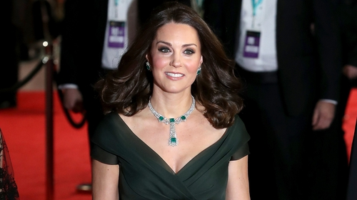 The Duchess of Cambridge did not partake in the red carpet blackout