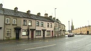 The attack happened at a house in Hillview Terrace in Banbridge around 5.30am this morning