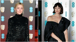 Saoirse Ronan & Caitriona Balfe winning on the BAFTA red carpet