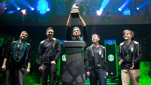 Esports teams such as OG could one day be competing as Olympians