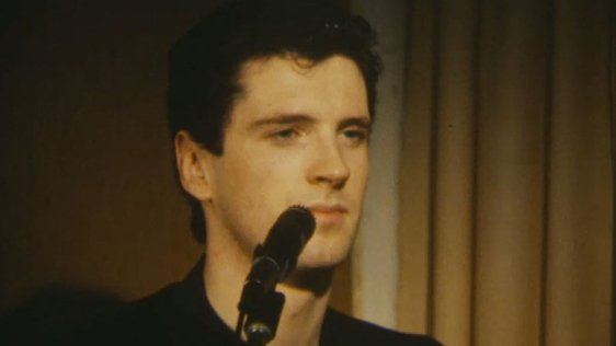Pat Dunne, Singer with Pop Mecanics in Litton Lane (1983)
