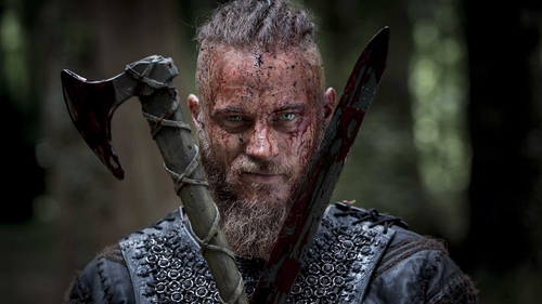 Vikings star Travis Fimmel, as featured in the new photographic exhibition at Bray's Mermaid Arts Centre