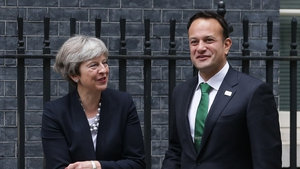 Theresa May and Leo Varadkar discussed Brexit and the EU's draft withdrawal agreement