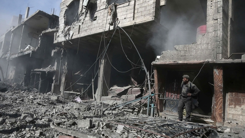 Eastern Ghouta in Syria has been under government siege since 2013