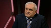 Bertie Ahern on the impasse in Northern Ireland | Claire Byrne Live