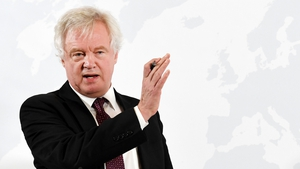 David Davis was setting out his vision for a future post-Brexit economic partnership with the EU