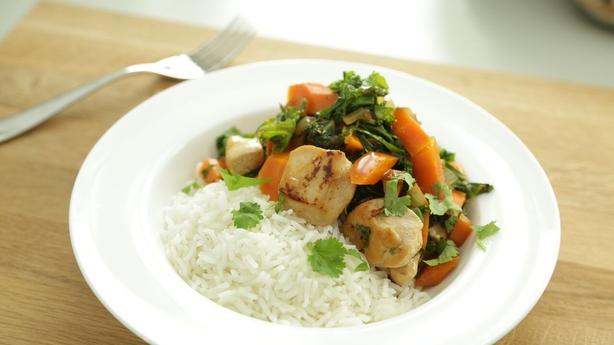 Teriyaki Chicken and Veg Stir Fry