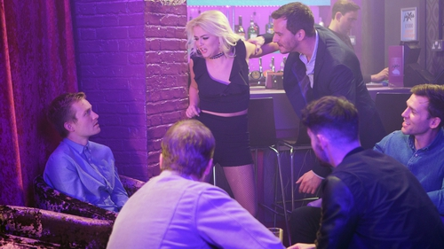 Bethany gets arrested at the club in Coronation Street