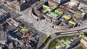 The National Transport Authority backs plans for College Green to become a pedestrianised plaza