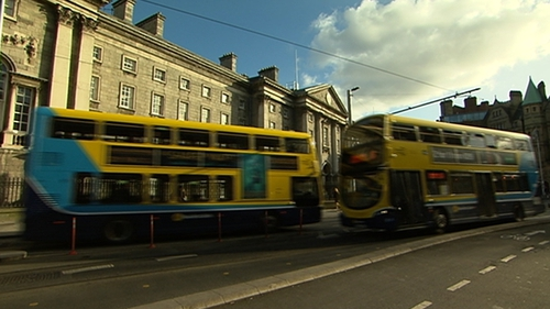 The hearing was told that Dublin Bus accounts for 72% of people travelling in the city centre during rush hour