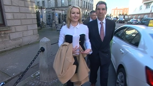 Claire Byrne said she could not have known in advance that Joe Costello was going to make the allegation