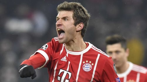 Thomas Muller was on song in Munich