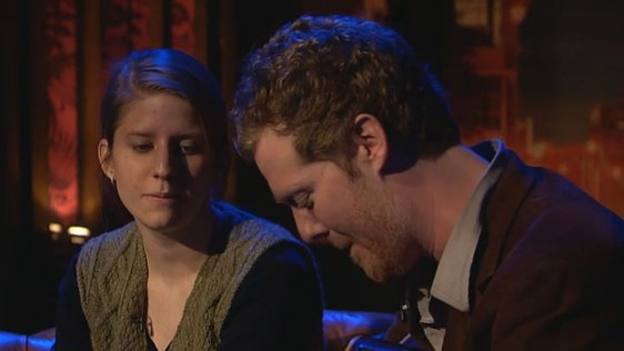 Markéta Irglová and Glen Hansard on Tubridy Tonight (2008)