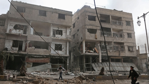 Russian Federation  denies responsibility for eastern Ghouta deaths