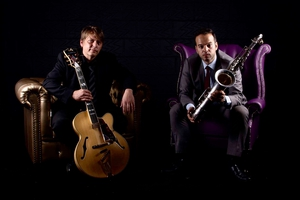 Nigel Price and Vasilis Xenopoulos: breezy and upbeat, a perfect meeting of musical minds