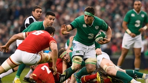 CJ Stander on the charge against Wales in 2016 on his Ireland debut