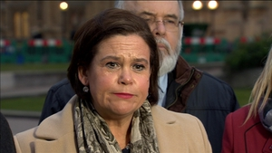 Mary Lou McDonald says Sinn Féin is committed to the return of power-sharing at Stormont