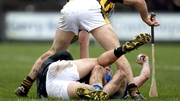 Last weekend's hurling action was littered with fouling