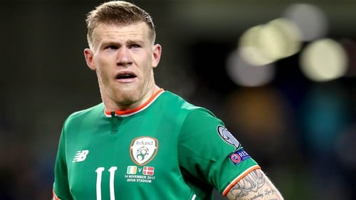 """James McClean: """"I'm sure it will be water off a duck's back as far as Stephen Kenny is concerned."""""""