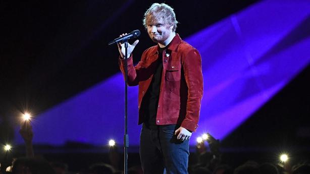 Ed Sheeran won Global Success award at Brits
